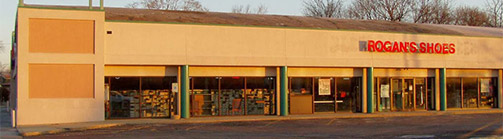 Rogans Shoes Greenfiled Shoe Store Building Picture