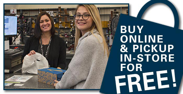 Buy Online & Pick-Up in-Store for FREE!