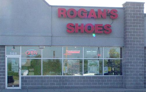 Rogans Shoes Fond du Lac Shoe Store Building Picture